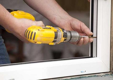 عایق بندی پنجره upvc با تنظیم قطعات